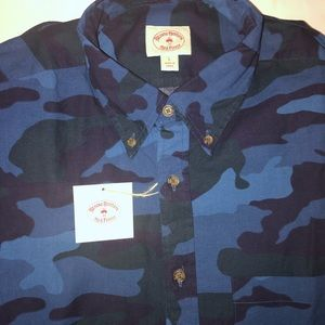 Brooks Brothers Red Fleece Camo Button Down
